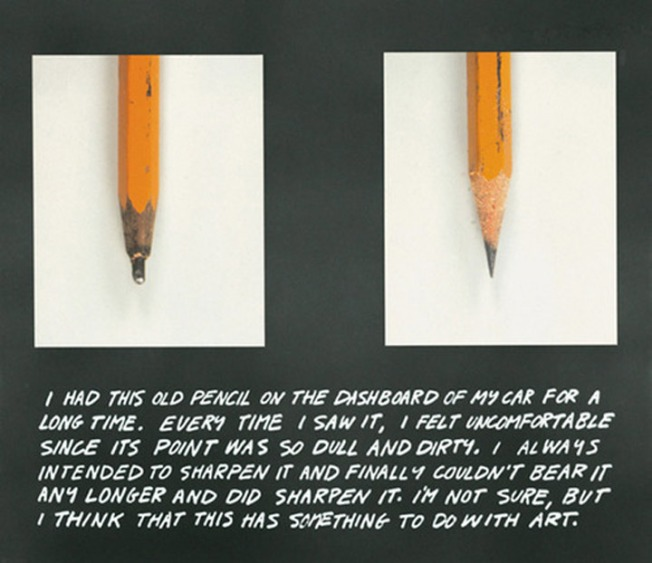 John-Baldessari-The-Pencil-Story-1972